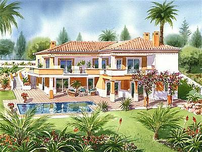 Picture of 3 bedroom Villa in Lagos, Algarve for sale  with 1500m2 of land - Reference 127906