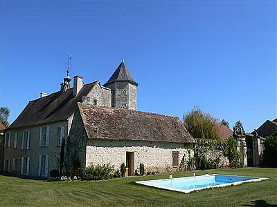 Picture of South Loire Manor House For Sale