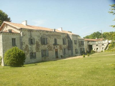 8 bedroom manor house for sale, Loudun, Vienne, Loire Valley