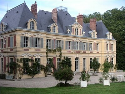 French Chateau North West Of Paris France 136843