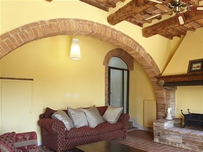 Image 8 | 8 bedroom villa for sale with 0.5 hectares of land, Val d'Era, Pisa, Tuscany 138498