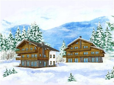 Picture of Ski Chalet For Sale Montana