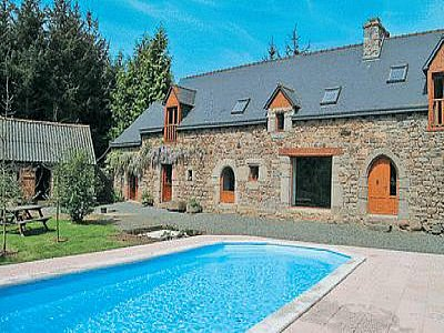Picture of 4 bedroom House in Plouagat, Brittany for sale  with 7000m2 of land - Reference 139509