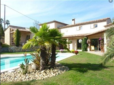 4 bedroom house for sale, Chateauneuf, Grasse, French Riviera