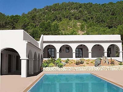 Picture of 5 bedroom Villa in San Jose, Ibiza for sale  with 10000m2 of land - Reference 141385
