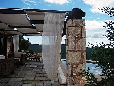 Image 3 | 4 bedroom villa for sale with 0.68 hectares of land, Mount Holomontas, Halkidiki, Central Macedonia 141864
