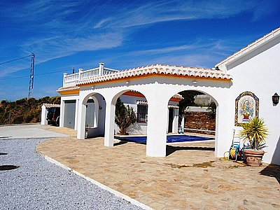 Image 18   4 bedroom villa for sale with 0.5 hectares of land, Competa, Malaga Costa del Sol, Andalucia 143395