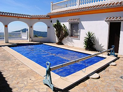 Image 2   4 bedroom villa for sale with 0.5 hectares of land, Competa, Malaga Costa del Sol, Andalucia 143395