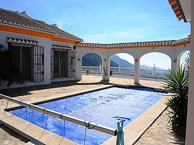 Image 3   4 bedroom villa for sale with 0.5 hectares of land, Competa, Malaga Costa del Sol, Andalucia 143395