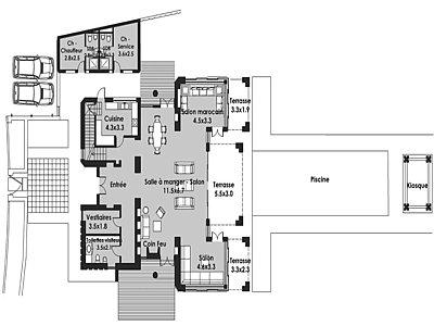 Image 2 | 4 bedroom villa for sale, Wadi Chbika, Chbika, Morocco Coast 143822