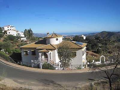 5 bedroom villa for sale, Comares, Malaga Costa del Sol, Andalucia