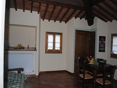 Image 4 | 2 bedroom apartment for sale with 30m2 of land, Lajatico, Pisa, Tuscany 146736