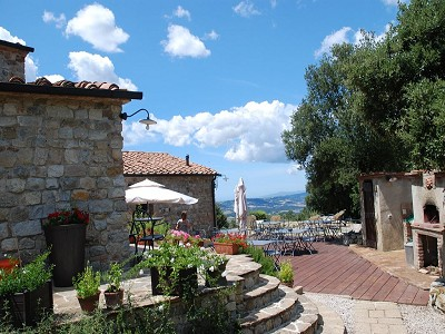 Image 4   Restored 14th century house with views of Tuscan coast. 149942