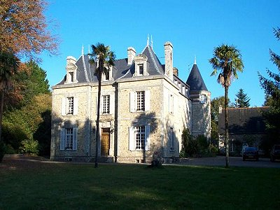 Plumelin French Chateau For Sale