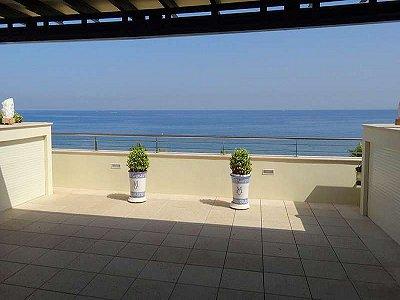 Beach Front Duplex Garden Apartment on Marbella Golden Mile