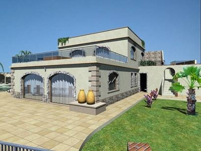 Image 2 | 3 bedroom villa for sale with 0.99 hectares of land, Taormina, Messina, Sicily 153859