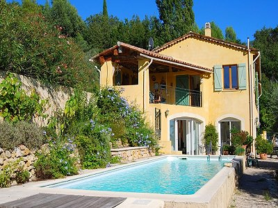 3 bedroom villa for sale, Chateauneuf, Grasse, French Riviera