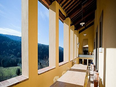 Image 7   17th century Villa and guest house in Arezzo, Tuscany for sale with 600000m2 of land. 157952