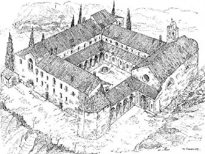 Image 25 | Magnificent Historic Convent for sale in Tuscany, Potential Hotel with 1000m2 of floor space 159658