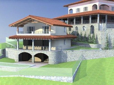 Image 1 | 3 bedroom villa for sale with 580m2 of land, Pianello del Lario, Como, Lake Como 160040
