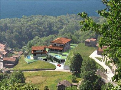 Image 3 | 3 bedroom villa for sale with 580m2 of land, Pianello del Lario, Como, Lake Como 160040