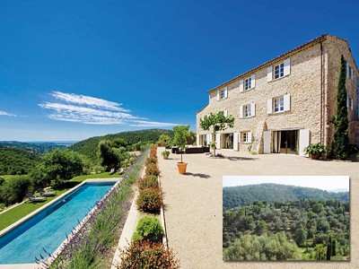 Image 3 | 8 bedroom farmhouse for sale with 1 hectares of land, Grasse, Cote d'Azur French Riviera 161328