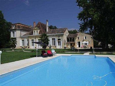 9 bedroom manor house for sale, Bergerac, Dordogne, Aquitaine