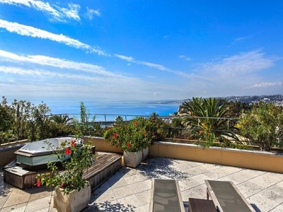 Image 3 | 3 bedroom penthouse for sale, Mont Boron, nice, French Riviera 164284