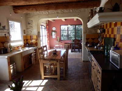 Image 15   4 bedroom farmhouse for sale with 0.71 hectares of land, Alpilles, Vaucluse , Provence 164581