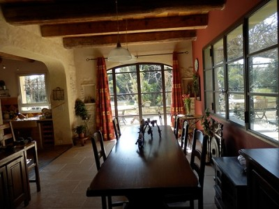 Image 9   4 bedroom farmhouse for sale with 0.71 hectares of land, Alpilles, Vaucluse , Provence 164581