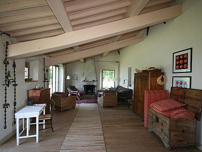 Image 9 | 5 bedroom farmhouse for sale with 32 hectares of land, Montecatini Val di Cecina, Pisa, Tuscany 168487