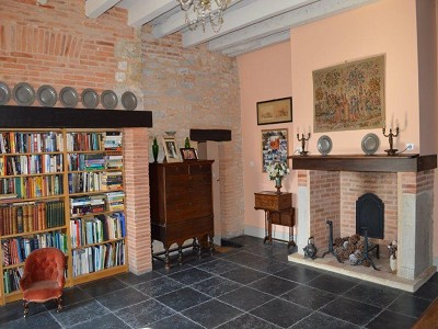 Image 28 | 5 bedroom manor house for sale with 1.3 hectares of land, Puycelci, Tarn , Midi-Pyrenees 168718