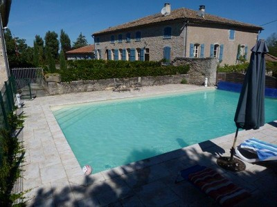 Image 3 | 5 bedroom manor house for sale with 1.3 hectares of land, Puycelci, Tarn , Midi-Pyrenees 168718