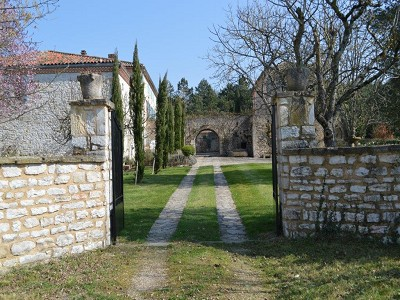 Image 5 | 5 bedroom manor house for sale with 1.3 hectares of land, Puycelci, Tarn , Midi-Pyrenees 168718