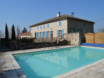 Image 8 | 5 bedroom manor house for sale with 1.3 hectares of land, Puycelci, Tarn , Midi-Pyrenees 168718