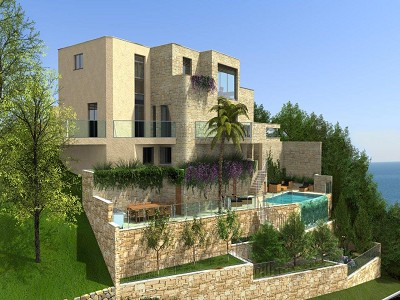 4 bedroom plot of land for sale, Menton, Provence French Riviera