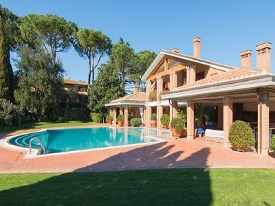 Image 2   9 bedroom villa for sale with 0.5 hectares of land, Rome, Lazio 171330