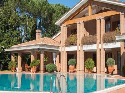 Image 3   9 bedroom villa for sale with 0.5 hectares of land, Rome, Lazio 171330