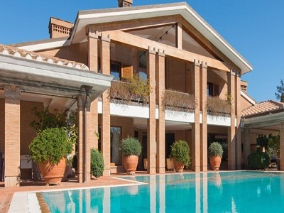 Image 4   9 bedroom villa for sale with 0.5 hectares of land, Rome, Lazio 171330