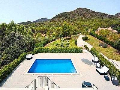 Image 6   5 bedroom villa for sale with 9,000m2 of land, Santa Maria del Cami, Central Mallorca, Mallorca 171663