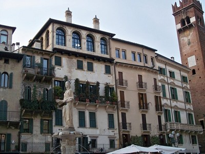 Piazza Erbe Verona Penthouse For Sale
