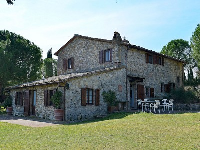 5 bedroom farmhouse for sale, Podere Campanile, Radda, Siena, Tuscany