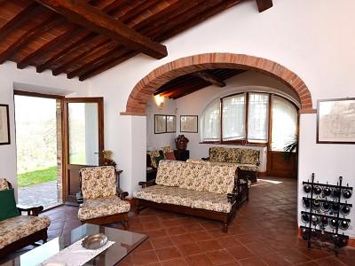 Image 11   5 bedroom farmhouse for sale with 33 hectares of land, Podere Campanile, Radda in Chianti, Siena, Chianti Wine Region 172438