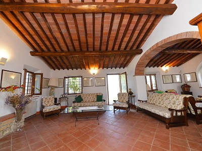 Image 12   5 bedroom farmhouse for sale with 33 hectares of land, Podere Campanile, Radda in Chianti, Siena, Chianti Wine Region 172438