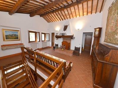 Image 14   5 bedroom farmhouse for sale with 33 hectares of land, Podere Campanile, Radda in Chianti, Siena, Chianti Wine Region 172438