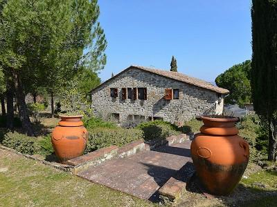 Image 3   5 bedroom farmhouse for sale with 33 hectares of land, Podere Campanile, Radda in Chianti, Siena, Chianti Wine Region 172438