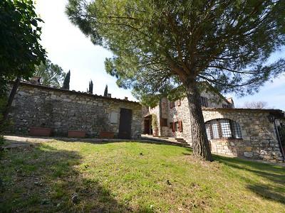 Image 5   5 bedroom farmhouse for sale with 33 hectares of land, Podere Campanile, Radda in Chianti, Siena, Chianti Wine Region 172438