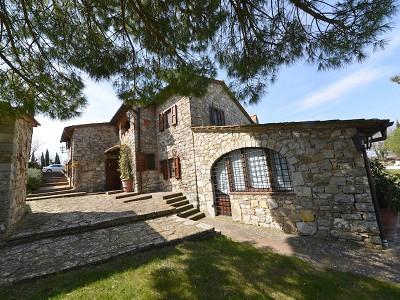 Image 6   5 bedroom farmhouse for sale with 33 hectares of land, Podere Campanile, Radda in Chianti, Siena, Chianti Wine Region 172438