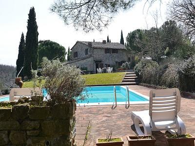 Image 7   5 bedroom farmhouse for sale with 33 hectares of land, Podere Campanile, Radda in Chianti, Siena, Chianti Wine Region 172438