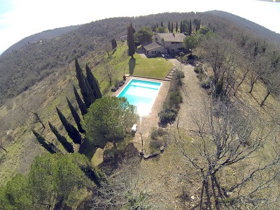 Image 8   5 bedroom farmhouse for sale with 33 hectares of land, Podere Campanile, Radda in Chianti, Siena, Chianti Wine Region 172438